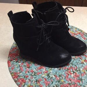 Shoes - Wedge sneakers. Great condition